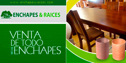 ENCHAPES Y RAICES
